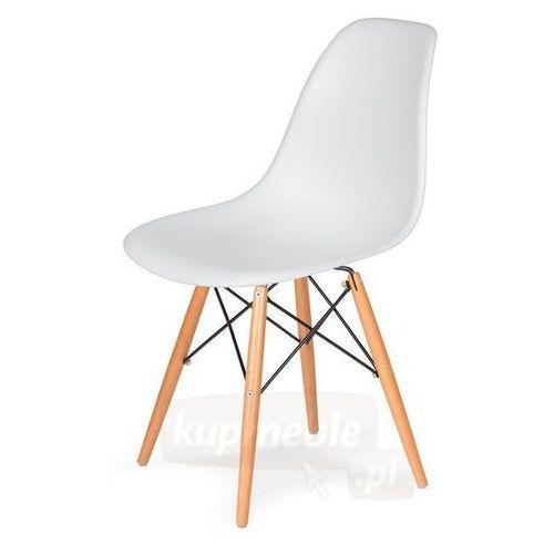 Krzesło dsw do nowoczesnych jadalni na drewnianych nogach marki King home