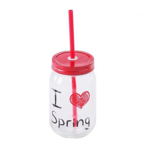 Słoik Ze Słomką Love Spring
