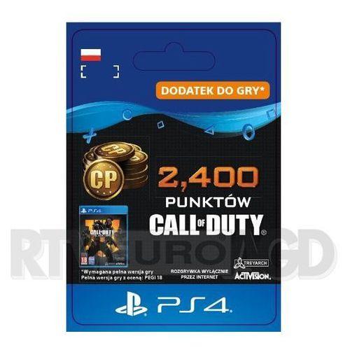 Sony Call of duty: black ops iv - 2400 punktów [kod aktywacyjny] ps4