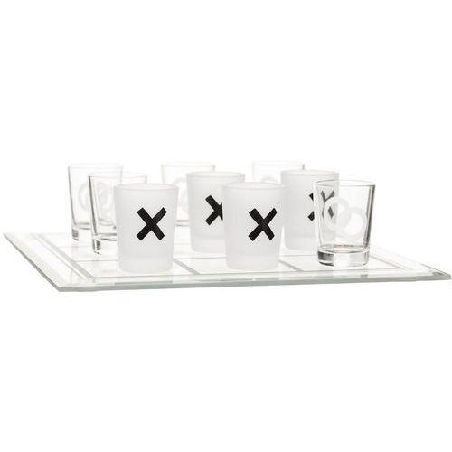 Gra kółko i krzyżyk - szklana plansza i kieliszki do alkoholu (sf-5016681) marki Sagaform