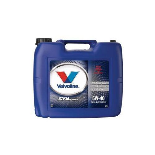 Valvoline SynPower 5W-40 olej silnikowy 20 Litr Kanister