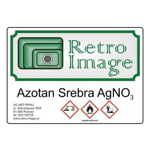 Retro-image - azotan srebra 10g agno3 cz.d.a marki Retro image