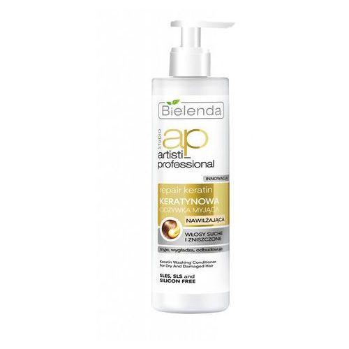 Bielenda Artisti Professional Repair Keratin Odżywka myjšca do włosów suchych i zniszczonych 250ml (5902169021443)