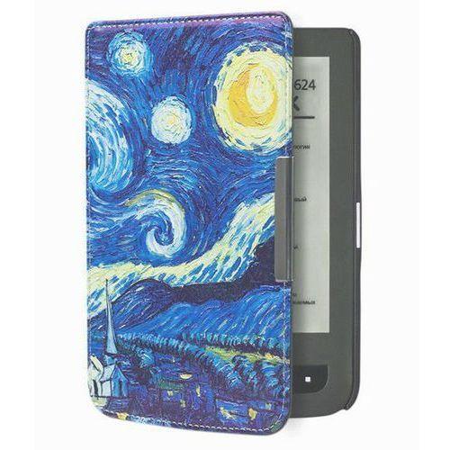 Etui Design Case PocketBook 624/614/626 Touch Lux 2 / 3 Noc