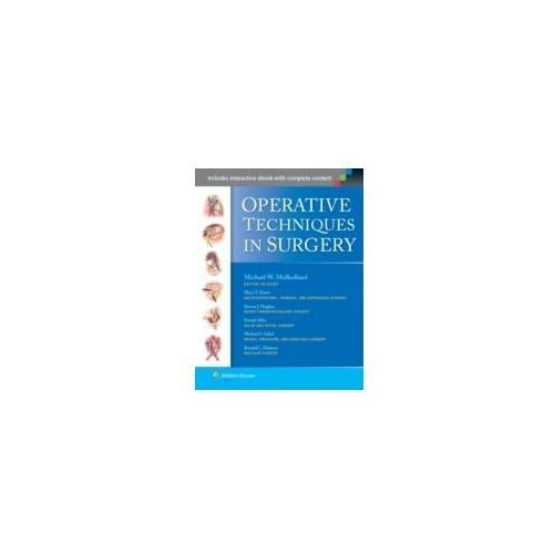 Operative Techniques in Surgery (9781451186314)