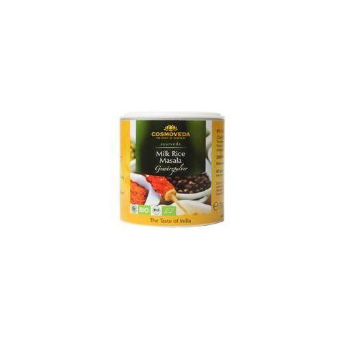 Mieszanka przypraw do słodkich dań z ryżu lub potraw mlecznych milk masala organiczna 80g marki Cosmoveda