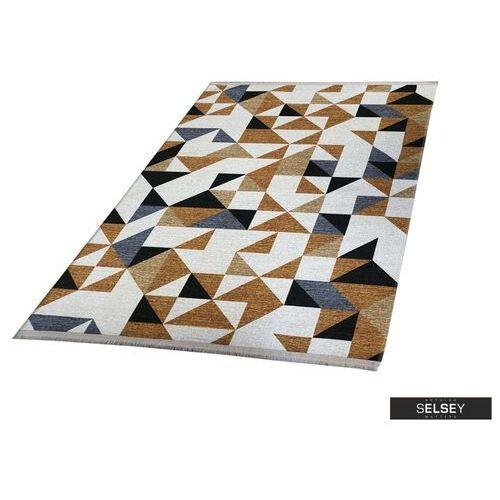 SELSEY Chodnik Folkfur trójkąty 75x300 cm (5903025315119)