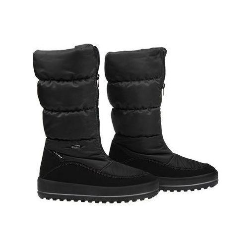Manitu Śniegowce 991176-1 czarne polar-tex damskie