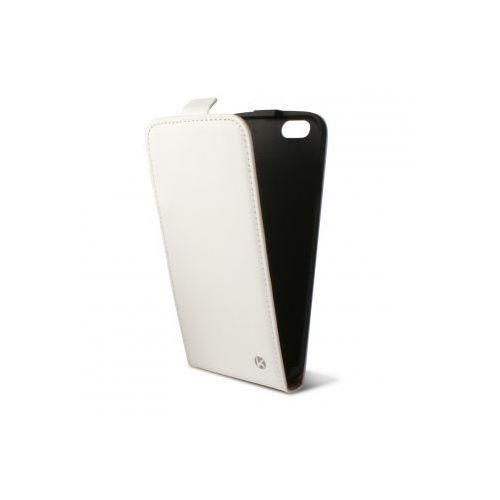 KSIX Etui FLIP UP dedykowane do Apple iPhone 6 4.7 - białe Odbiór osobisty w ponad 40 miastach lub kurier 24h - produkt z kategorii- Futerały i pokrowce do telefonów