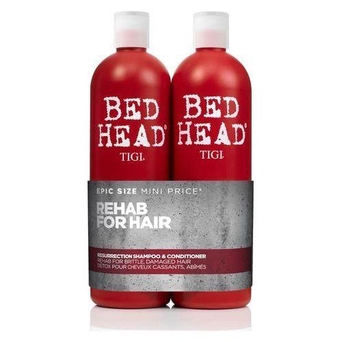 Tigi urban antidotes ressurection | zestaw odbudowujący: szampon 750ml + odżywka 750ml