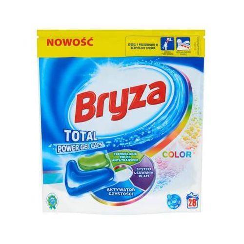 Bryza 28szt total power gel caps kapsułki do prania kolorowych tkanin (28 prań) marki Reckitt benckiser