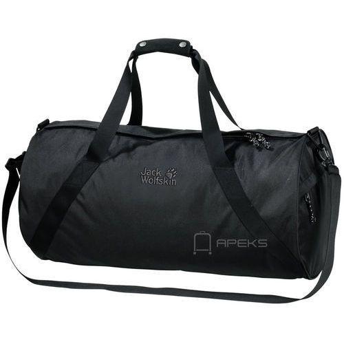 Jack wolfskin berkeley duffle torba sportowa 61 cm / czarna - black