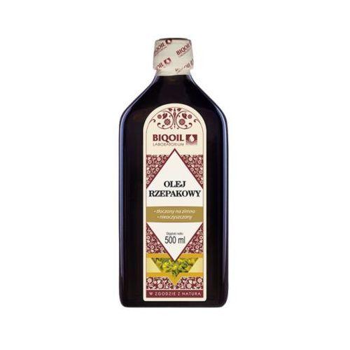 Biooil Olej rzepakowy tłoczony na zimno nierafinowany 500ml