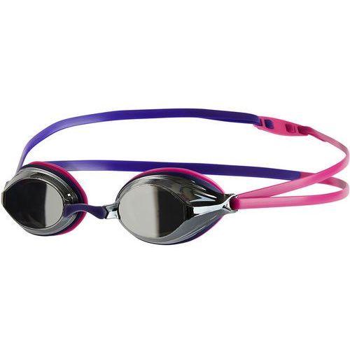 Speedo vengeance mirror okulary pływackie różowy/fioletowy 2018 okulary do pływania (5053744337760)
