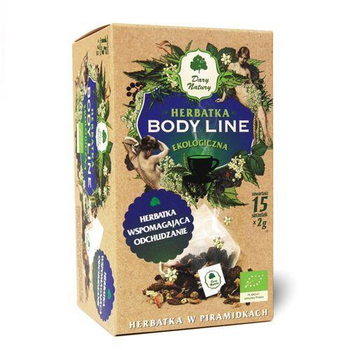 Dary Natury Body Line herbatka ekologiczna odchudzanie 100% EKO 15x2g, 5902741004390
