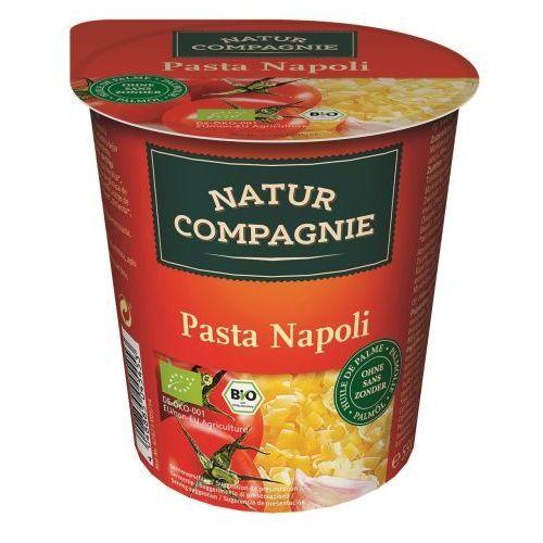 Danie w kubku pasta napoli bio 59 g - natur compagnie wyprodukowany przez Natur compagnie (buliony, kostki rosołowe)