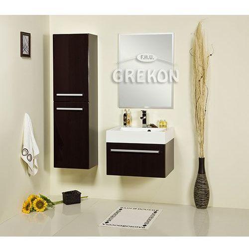 Szafka łazienkowa wysoka fks-wp-rw/k fokus wenge połysk marki Gante