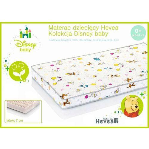Dziecięcy materac lateksowy Hevea Disney Baby 60x120, Hevea