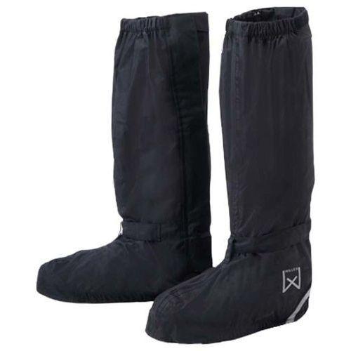 Willex ochraniacze na buty rowerowe, długie, 36-39, czarne, 29426