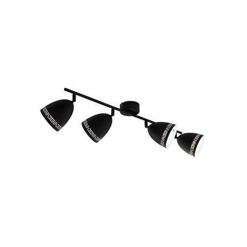Eglo sabatella 98169 listwa lampa oprawa sufitowa 4x40w e14 czarna/biała