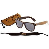 Okulary przeciwsłoneczne dzieci 4-10lat uv400 - brown/tan marki Banz