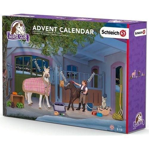Kalendarz adwentowy stajnia z końmi 97151 - Schleich (4055744010767)
