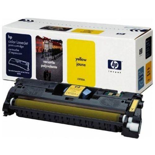 Wyprzedaż Oryginał Toner HP 121A do Color LaserJet 1500/2500 | 4 000 str. | yellow, pudełko otwarte