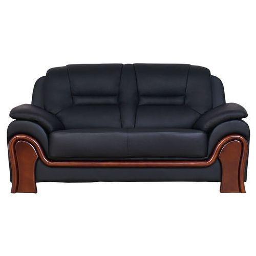 Sofa 2-osobowa PALLADIO czarny, kolor czarny