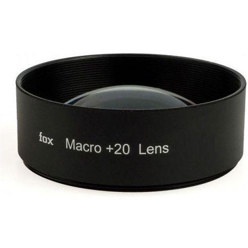 FoxFoto Soczewka makro +20 dioptrii 52mm