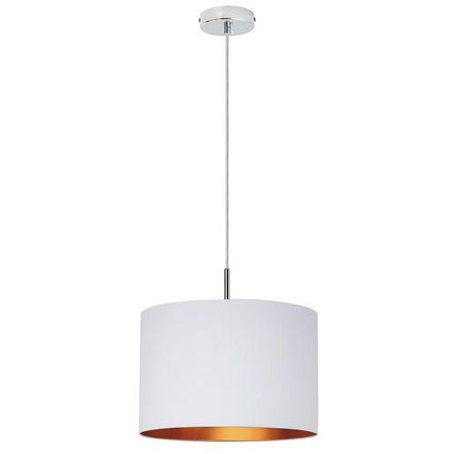 Lampa wisząca monica 2531 1x60w e27 biały/złoty/chrom marki Rabalux