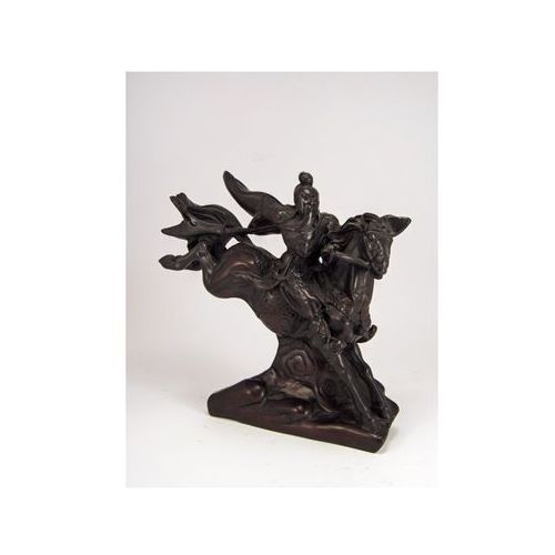 Veronese Figurka jeździec na koniu - kamień (aea013)