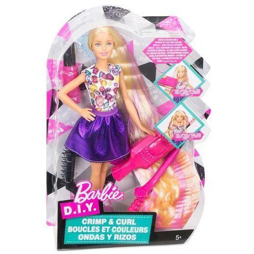 Lalka  zrób to sama fale i loki marki Barbie