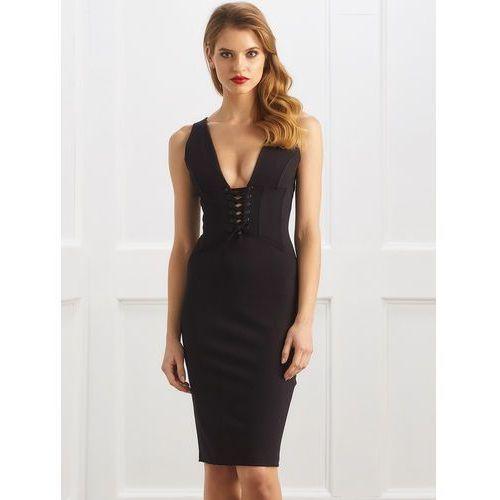Sukienka Lexy w kolorze czarnym