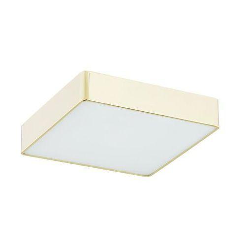 Plafon łazienkowy ATLANTIS IP44 35 x 35 cm biało-złoty LED PREZENT