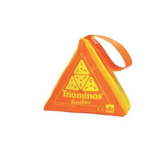 Goliath Triominos sunshine - pomarańczowy - games