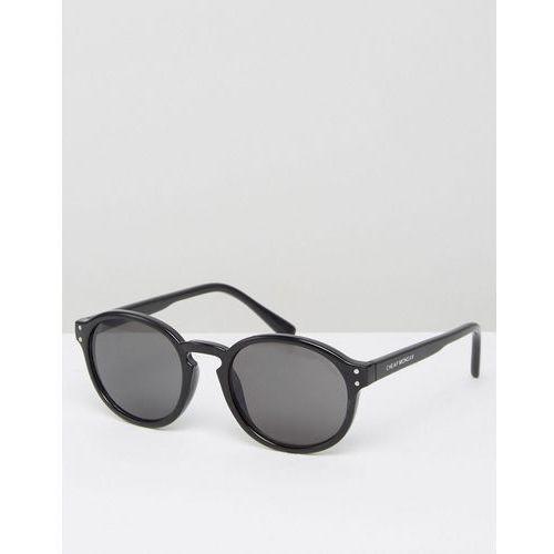 Cheap monday  round sunglasses in black - black