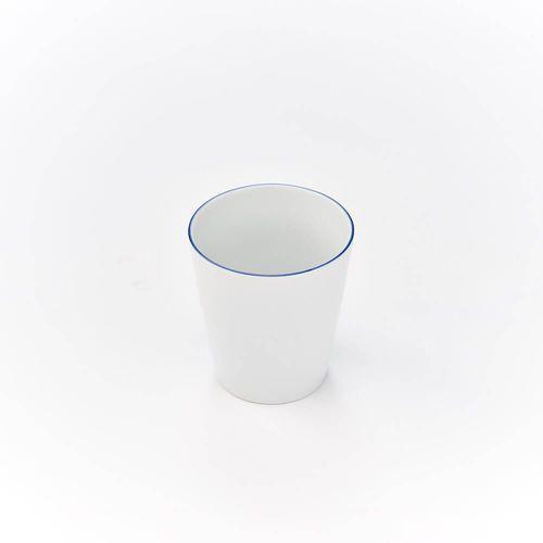 Kubek bez ucha porcelanowy bistro - 350 ml marki Karolina