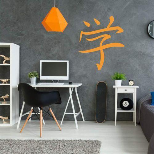 Wally - piękno dekoracji Szablon malarski znak japoński uczyć się 2186