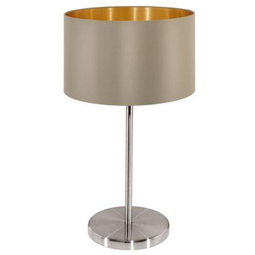 Eglo Lampa stołowa maserlo ciemnoszara - 23 cm, 31629