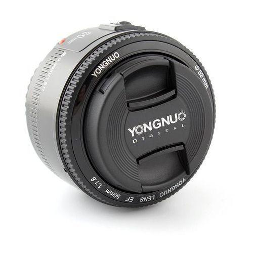 Obiektyw stałoogniskowy  50mm f/1.8 marki Yongnuo