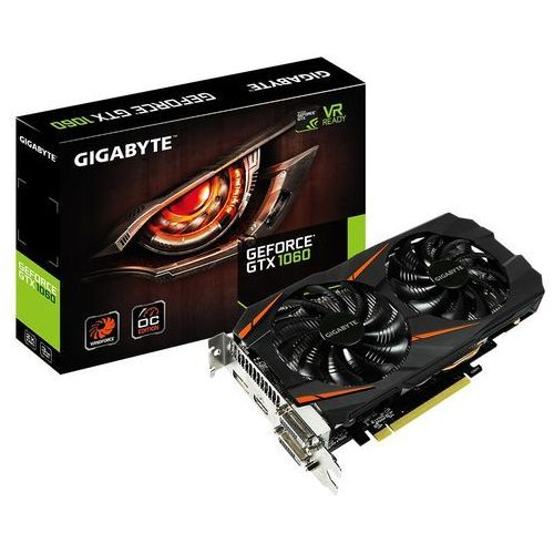 Gigabyte GeForce GTX 1060 WF OC 3GB DDR5 192BIT 2DVI/HDMI/DP [GV-N1060WF2OC-3GD]