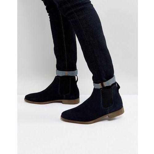 Kg by kurt geiger guildford chelsea boot in navy suede - blue, Kg kurt geiger