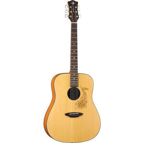 Luna Gypsy Select Henna - Gitara akustyczna