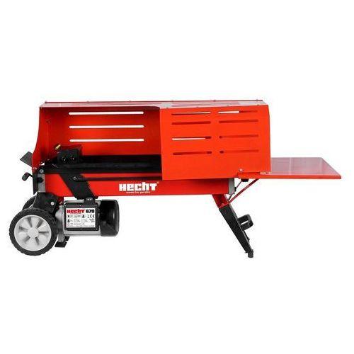 Hecht czechy Hecht 670 łuparka do drewna hydrauliczna elektryczna pozioma rębak nacisk 7 ton