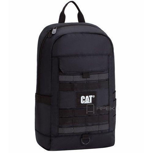 Caterpillar Combat plecak miejski CAT / Black, kolor czarny