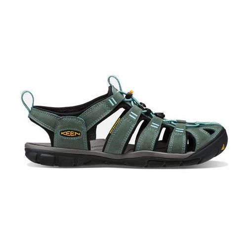 Sandały CLEARWATER CNX LEATHER WOMEN - mineral blue/yellow