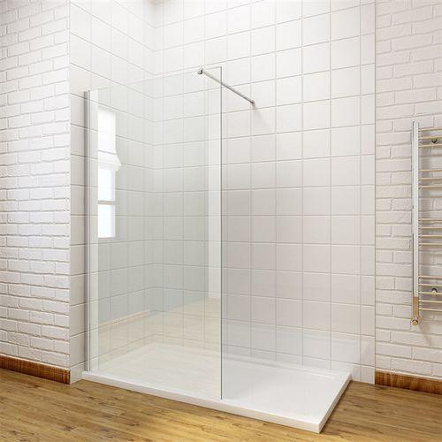 Massi Massi ścianka walk-in 80x195, szkło transparentne + powłoka easyclean mskp-fa1021-80 * wysyłka gratis 80 x 195 (MSKP-FA1021-80)
