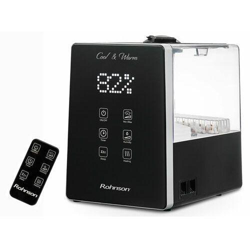 Rohnson Nawilżacz powietrza r-9510 cool & warm czarny (5202561533101)