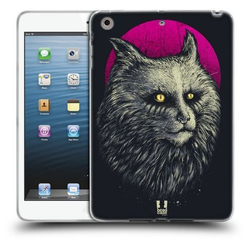 Etui silikonowe na tablet - cats of goth yellow eyes marki Head case