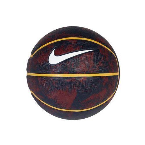 Nike Performance LEBRON PLAYGROUND Piłka do koszykówki tean red/university gold/college navy/white